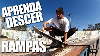 learn DOWN RAMPS #LB LESSONS - SKATE