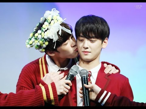 [Mr.CHA] EunWoo ♥ SanHa (WooSan Couple) - #HappyASTRO300days# 2