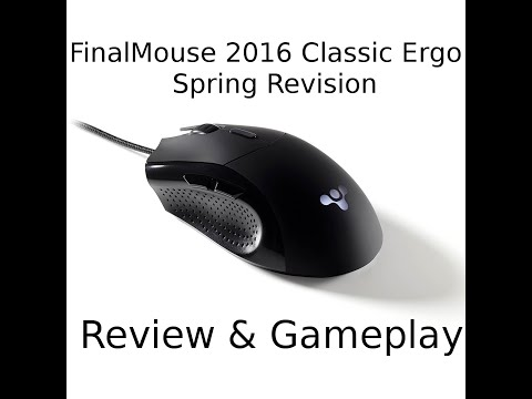 FinalMouse 2016 Classic Ergo Spring Revision Review And Gameplay By High Level FPS Player