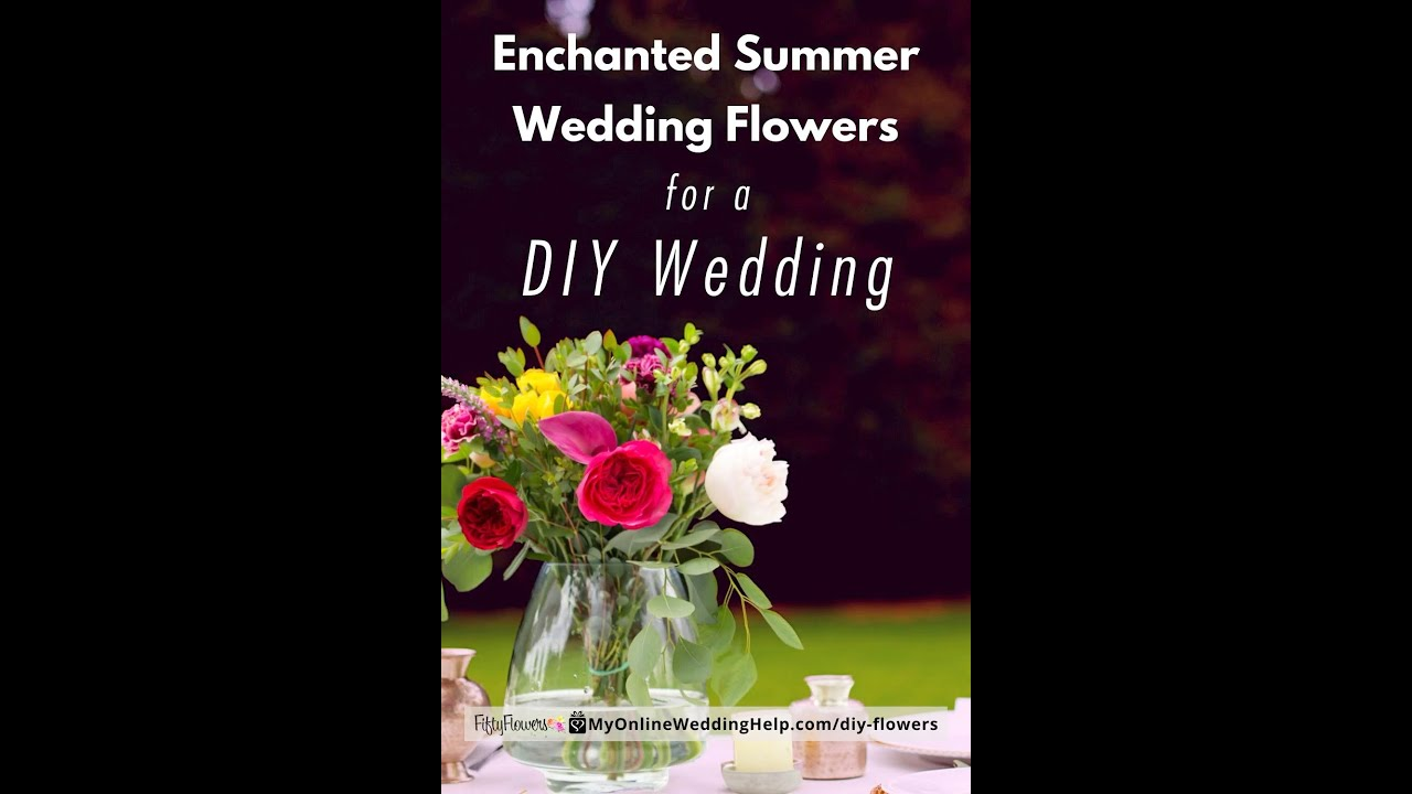 Top 3 DIY Wedding Flowers Ideas - Photos and Inspiration - My Online  Wedding Help. Wedding Planning Tips & Tools