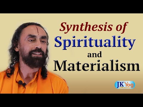 Role Of Science In Spiritual Life | Synthesis of Spirituality and Materialism