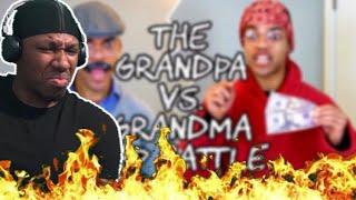 """GRANDPA VS GRANDMA RAP BATTLE REACTION  """"FUEGOOOOO"""""""