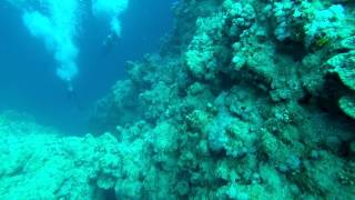 Bells Entry, Blue Hole, Dahab. My first 30-meter deep dive :D