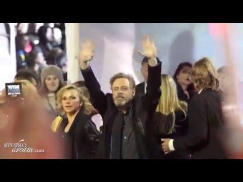 Star Wars: The Force Awakens World Premiere 4K