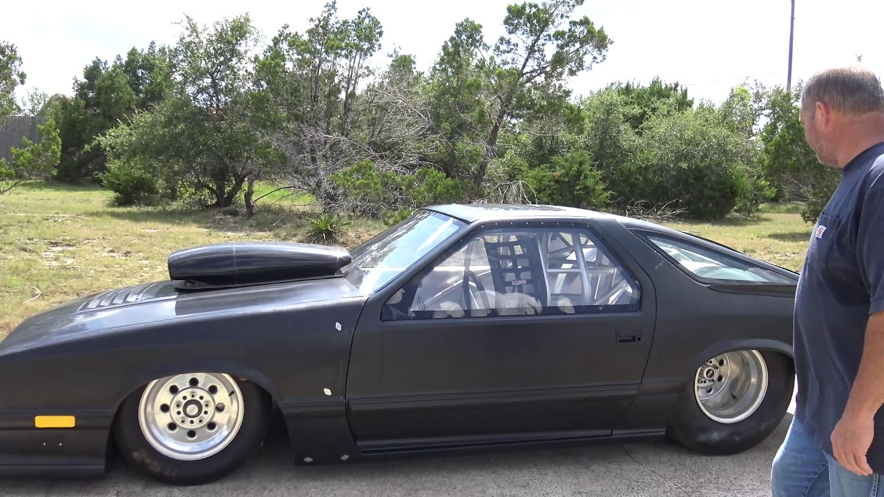 Pro Stock Dodge Daytona 80s Flashback Racecar for sale - YouTube