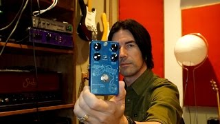 ckk electronic space station delay verb demo by pete thorn