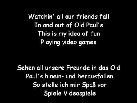 Lana Del Rey - Video Games (Lyrics & deutsche Übersetzung)
