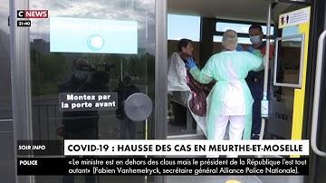 Covid-19 : hausse des cas en Meurthe-et-Moselle