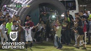 José López saca un trallazo y pone el 2-1 de Murciélagos sobre América