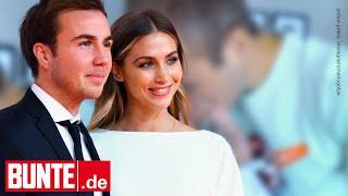 Mario & Ann-Kathrin Götze - Süße Knutsch-Attacke Für Baby Rome – Papa Kann Sich Kaum Beherrschen