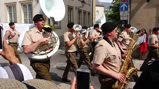 National Day celebrations at Luxembourg, 22/6/2017