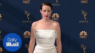 Claire Foy looks like royalty on the 2018 Emmys red carpet