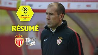 AS Monaco - Amiens SC ( 0-0 ) - Résumé - (ASM - ASC) / 2017-18