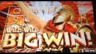 HUGE WIN! Leonidas: KING of the SPARTANS slot machine BONUS