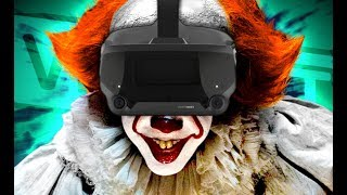 """""""IT"""" PENNYWISE Impression SCARES KIDS in VRCHAT!!! 🎈"""