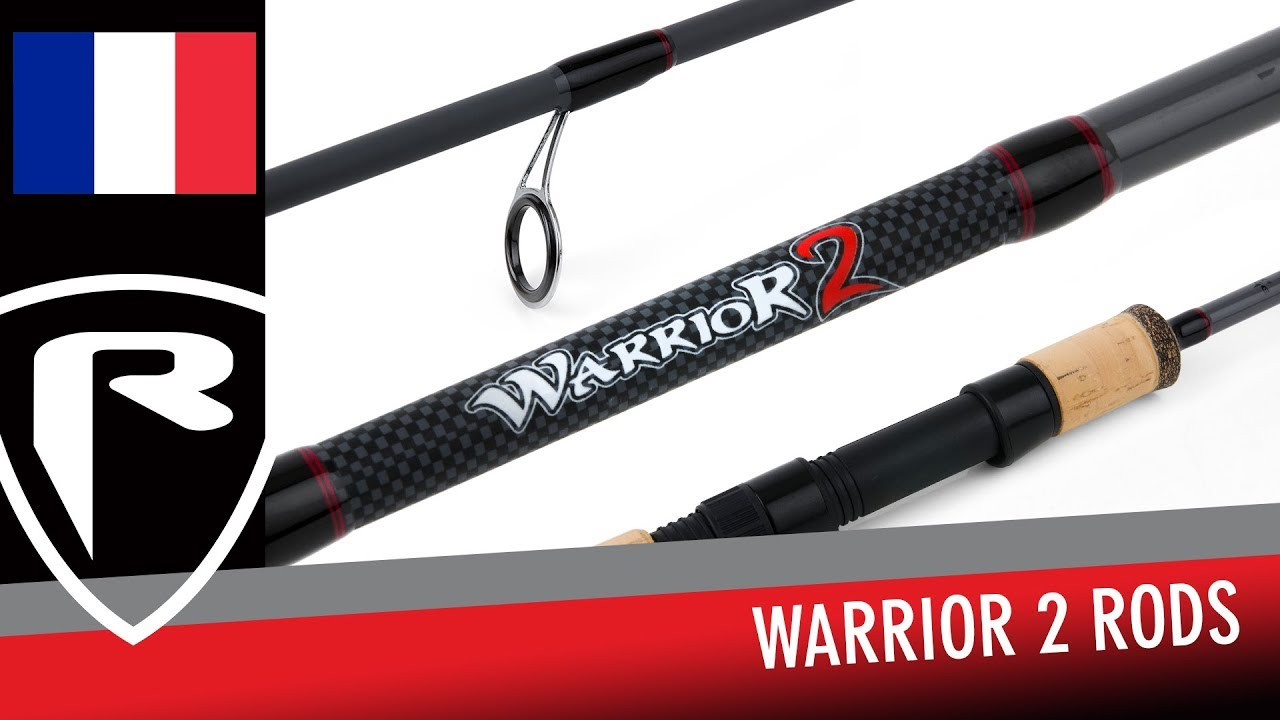 2 NRD265 Nouveau Fox Rage Warrior 2 Spin Rod 240 cm 10-30 g Sections