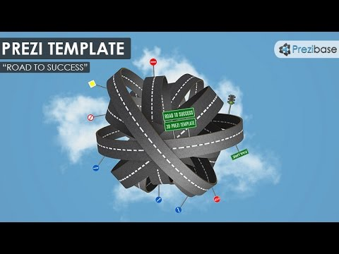 D Road To Success  Prezi Template  Youtube