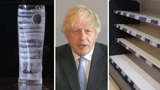 video: Politics latest news: Boris Johnson warns UK is 'not out of the woods yet' despite 'encouraging' drop in Covid cases