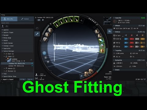Ghost Fitting and Caldari / Amarr FW Fleet
