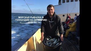 Морская рыбалка в Голландии на скумбрию Hochseeangeln in Holland