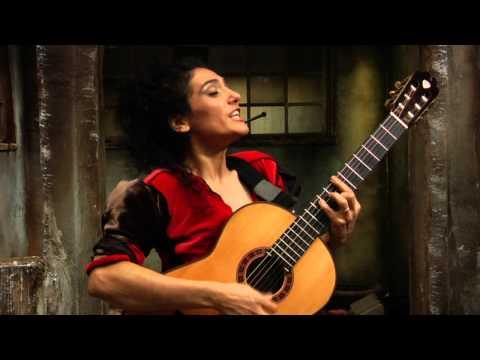 Cover of Björk's Bachelorette by Badi Assad, DVD celebrating 20 years of music