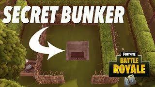 SECRET UNDERGROUND BUNKER! (Season 6 FORTNITE)