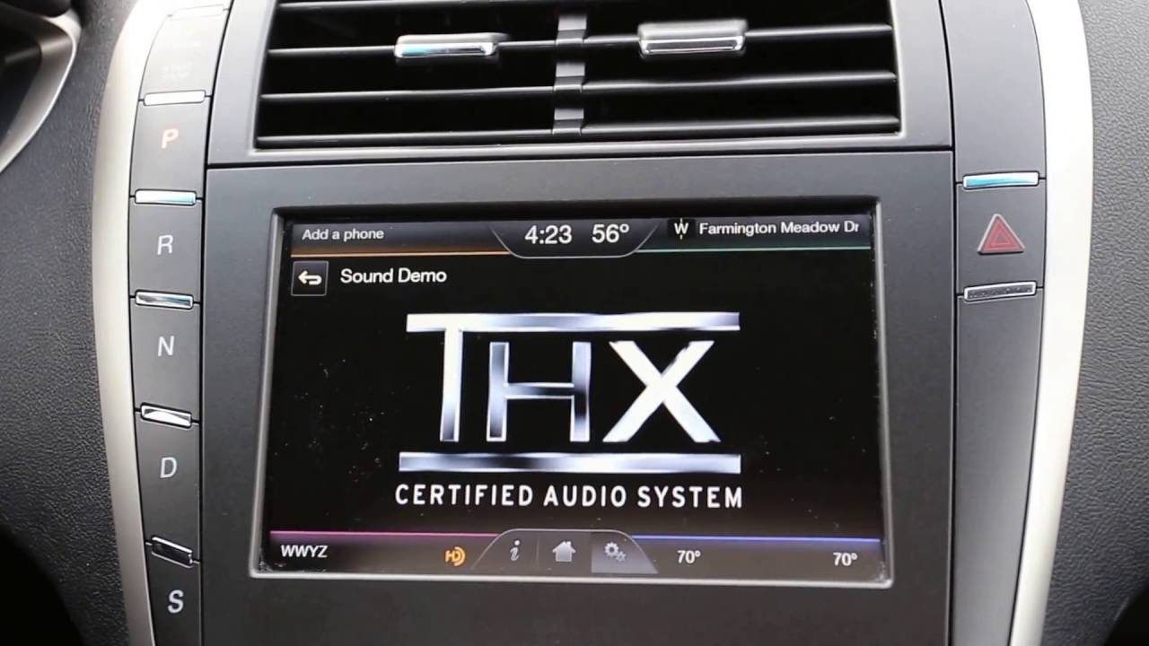 Lincoln Mkz Thx Certified Audio Demo