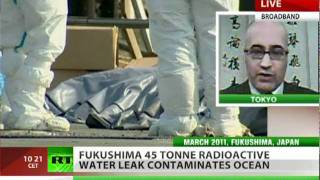 Fukushima 45 ton radioactive water leak poisons ocean