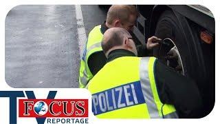 Bitte folgen! Mit defekten Bremsen auf der A2 - Focus TV Reportage