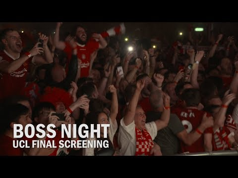 Fans In Liverpool Final Whistle Reaction To Champions League Win | BOSS Night Screening