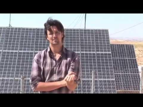 Sun rays: solar energy in Palestine