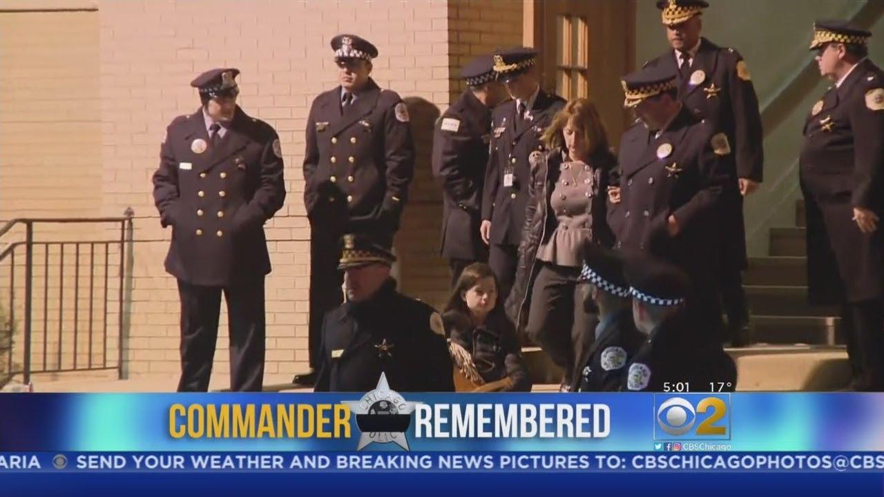 Final Goodbyes To Fallen Officer