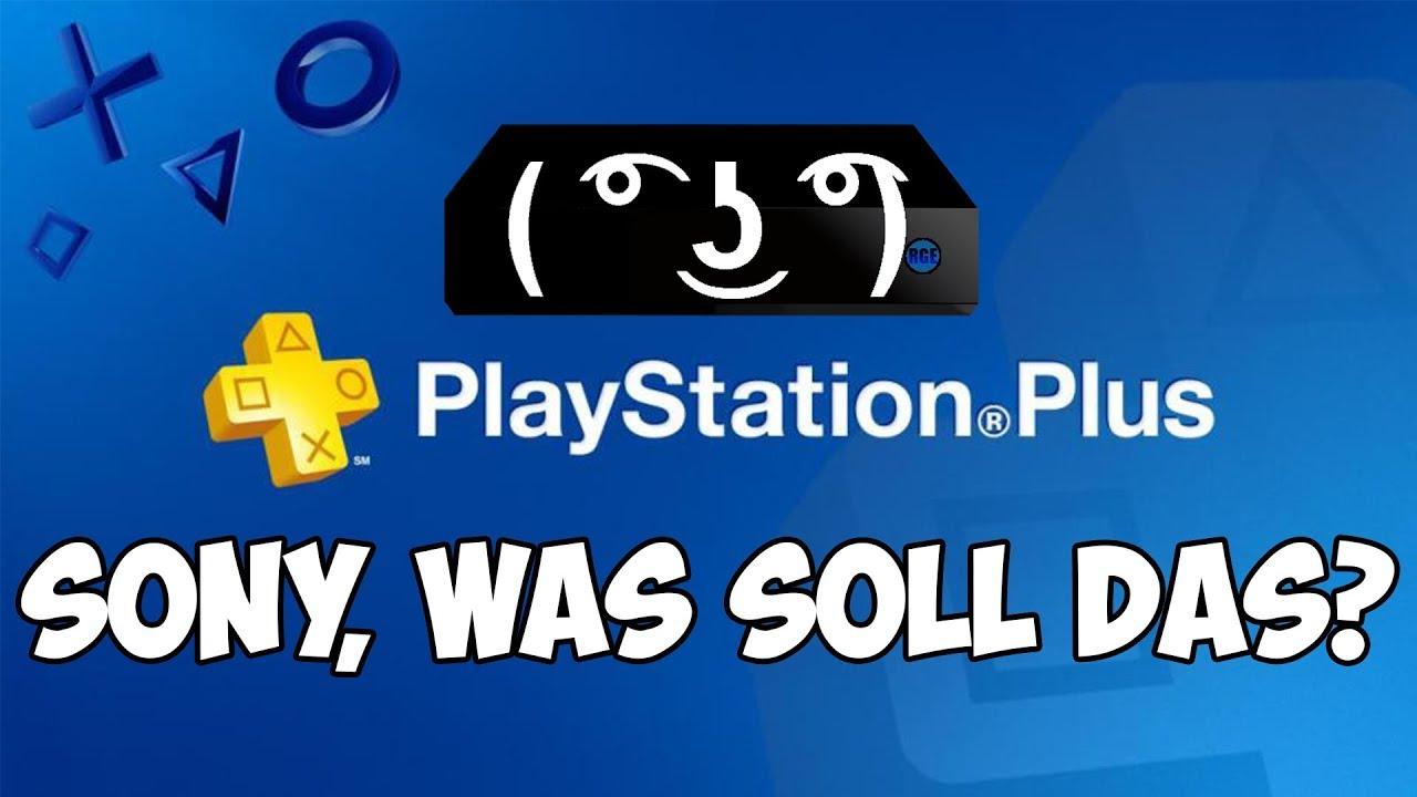 Die PS Plus Änderungen sind SCHEISSE, Sony!