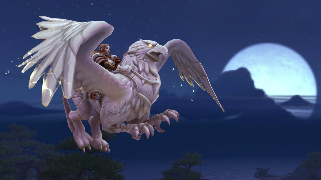 Commemorate 15 Years of World of Warcraft With New Alabaster Mounts! thumbnail