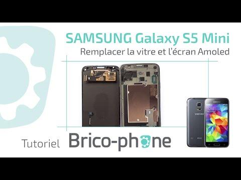 Tuto : Galaxy S5 mini G800F : Changer la vitre et l