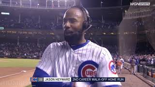 Jason Heyward hits a laser to left and the Cubs walk it off vs the Marlins, A Breakdwon