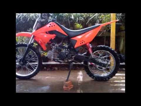 Video Modifikasi Motor Bebek 4tak Yamaha Vega R Modif Trail