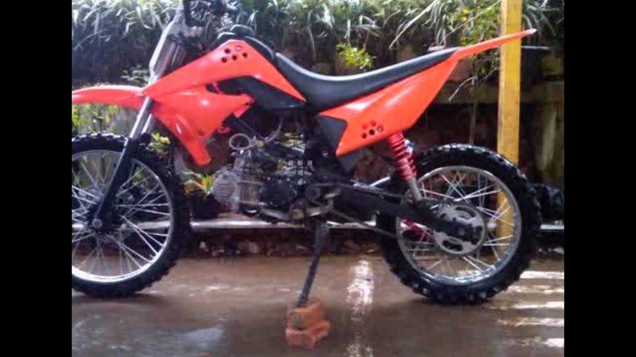 Video Modifikasi Motor Bebek 4tak Yamaha Vega R Modif Trail YouTube