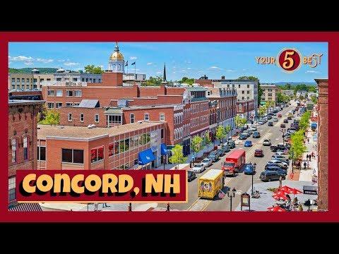 CONCORD, NEW HAMPSHIRE Drone Video Tour