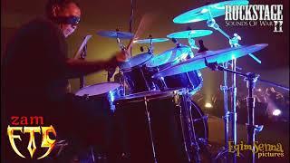 Zam FTG (Drummer) - aku tak peduli malaysia maju Konsert Rockstage 2 FTG vs XPDC 2017