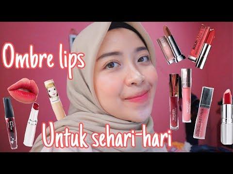 tutorial-ombre-lips-untuk-sehari-hari