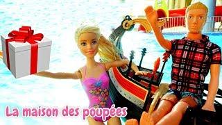 Vidéo en français pour enfants. Barbie a fait une surprise pour Ken