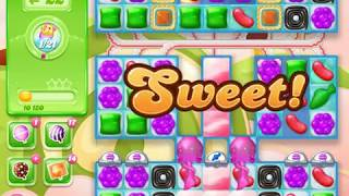 Candy Crush Jelly Saga Level 1697 (No boosters)