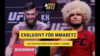 UFC 229: Fighters predict Conor McGregor vs Khabib Nurmagomedov