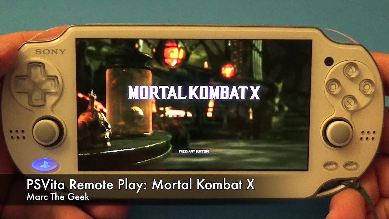 PSVita Remote Play: Mortal Kombat X (Will It Come To