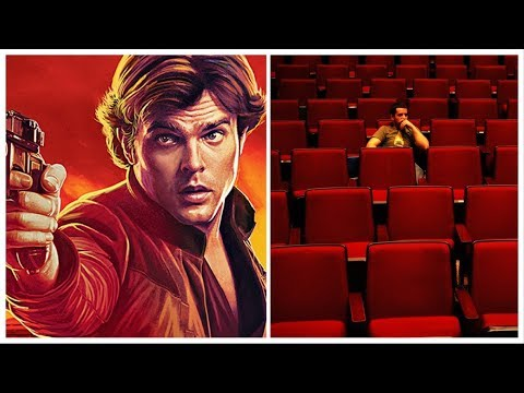 Sad empty theatre for the Han Solo movie in China