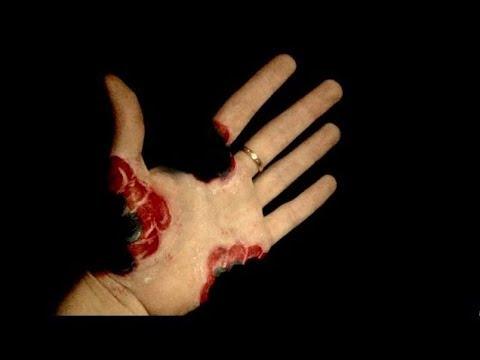 Bitten Hand Optical Illusion - SFX Halloween Makeup Tutorial - YouTube