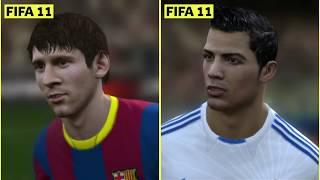 Leo Messi vs. Cristiano Ronaldo FIFA Graphics Evolution: FIFA 06 to FIFA 20
