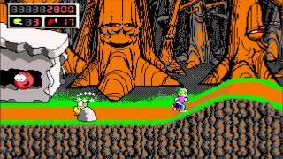 [PC] - Commander Keen 4 Secrets of the Oracle - 1 The Border Village