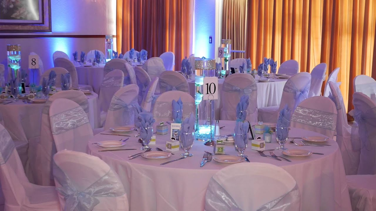 Babyshower Light Blue VS Babyshower Light Pink Marvel Banquet Hall